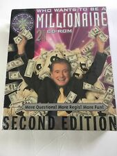 Vintage Who Wants To Be A Millionaire, 2nd Edition PC CD-ROM for Windows95/98/Xp