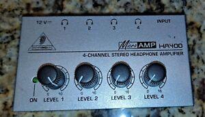 Behringer Micro AMP HA400 headphone amp HA 400