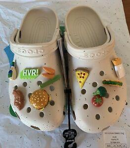 Hidden Valley Ranch X Crocs Classic Clog Size 7 Mens / 9 Womens With Jibbitz New
