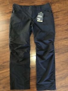 REI Screeline Hybrid Roll Up Convertible Pant 12P Stretch Nylon Black 12 Petite