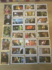 Collection of 30 Merlin Dr Who Stickers