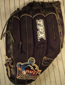 Roger Clemens Rocket Man RH Louisville Slugger TPX-PRORC baseball glove patch
