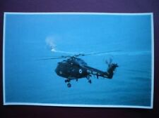 FALKLANDS TASK FORCE POSTCARD RP WWII  LYNX HELICOPTER OPERATING WITH THE TASK F