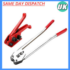 Pp/pet Manual Strapping Tools Packing Machine Set Heavy Duty Tensioner & Sealer