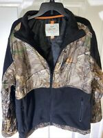 Real Tree Camo Jacket Men's Size XXL (2XL) Warm Hunting