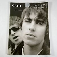 Oasis The Singles Collection Guitar Tab Sheet Music Paperback Book 2005
