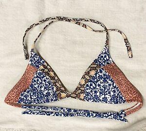 Tigerlily Womans Bikini Top Size 8 EUC