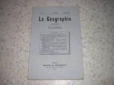 1925.Ile de Bréhat / Vergez Tricom.revue de géographie.madagascar