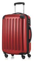 Alex Hauptstadtkoffer Handegpäck Koffer für jede Airline 55x35x20 cm Rot
