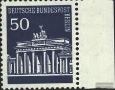 Berlin (West) 289 Seitenrandstück postfrisch 1966 Brandenburger Tor