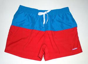 "CHUBBIES Swim Suit Trunks LIBERTIES 4"" Magic Print USA Flag When Wet Shorts XL"