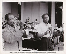 Louis Armstrong Ed Hall Satchmo The Great Edward R. Murrow Original Vintage 1957