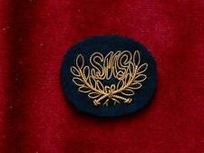 SMG Gold Bullion Trades badge on Dark back ground British Army