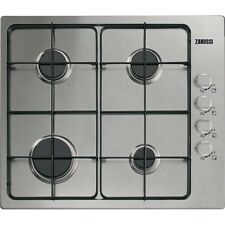 Zanussi ZGG62414SA EASY CLEAN INTEGRATED 60CM GAS HOB STAINLESS STEEL