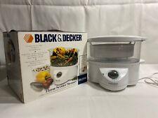 Black & Decker Flavor Scenter Steamer HS2000 3.5 Quart EXCELLENT PRE-OWNED