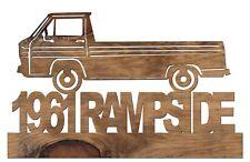 1961 Chevrolet Rampside Handmade Wooden Car Automobile Decor Plaque 415