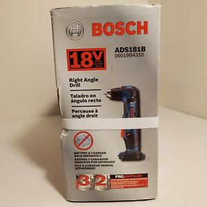 Bosch ADS181B 18-V Lithium-ion 1/2-inch Right Angle Drill - BARE TOOL