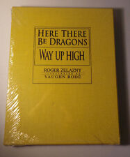 Vaughn Bode - Roger Zelazny - WAY UP HIGH - HERE THERE BE DRAGONS - Sealed - New