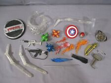 Marvel Legends ACCESSORY LOT Thor Elektra Iceman Captain America weapons stands