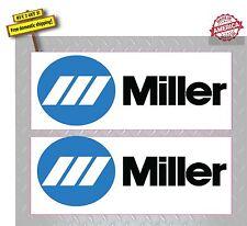 WELDER Miller Welder Pair (2 Decals) ARC TIG MIG Welder Decal Sticker P88
