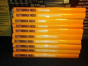 ELETTRONICA FACILE 10 VOLUMI JACKSON LIBRI 1993