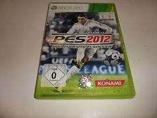 XBox 360  PES 2012 - Pro Evolution Soccer (1)