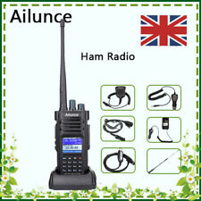 DMR Digital Ham Radio AilunceHD1 Dual Band Walkie Talkie High Power 3200mAh IP67