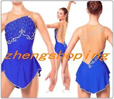 Twinkling Competition Figure Skating Dress Girls&Women Twirling Costume 8932