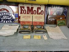 1958 Ford NOS Exhaust Deflectors. Bumper Mounted B8A-18259.A