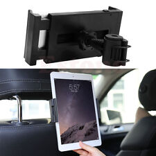 Universal Car Seat Headrest Mount Holder Stand For iPad Samsung Tablet 7-10""