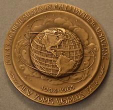1964-1965 New York World's Fair Bronze Medal - Medallic Art Company
