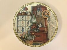 Knowles Cozy Country Corners Collector's Plate Mirror Mischief