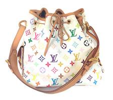 Authentic Louis Vuitton Monogram Murakami Petit Noe handbag shoulder bag