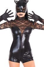 tenue ultra sexy crazy tenue BLACK CAT libertine wet look