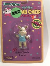 Bend-ems Shari Lewis' Baby Lamb Chop & Friends Figure NEW in Pkg Charlie Horse