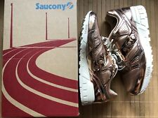 "Saucony Grid SD ""Ether"" S70310-1 ROSE GOLD Metallic Liquid Gold SZ 10"