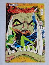 Elementals Vol. 1 No. 19 Nov 1987 Comico The Comic Company 1st Printing NM (9.4)