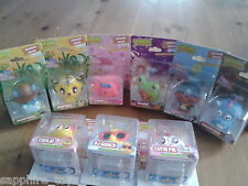 MOSHI MONSTERS - BUNDLE OF 9 FIGURES - Peppy, Purdy, Jeepers, Cutie Pie, Scamp+