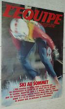 EQUIPE MAGAZINE N°95 1982 SKI SCHLADMING PARIS-DAKAR BERTRANNE BASKET