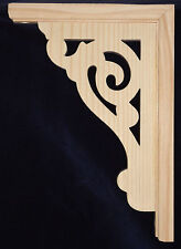 L&G'S Victorian Gingerbread Fretwork Trim Bracket 16''