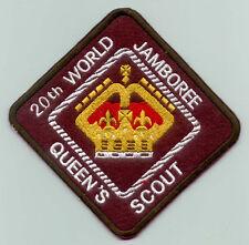 2003 World Scout Jamboree BELIZE QUEEN'S SCOUTS Contingent Backpatch (BP)
