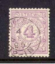 nederland postbewijs nr 5  gebruikt/used luxe