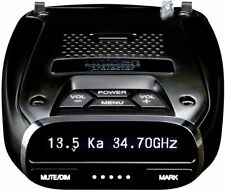 Uniden DFR7 Super Long Range Wide Band Laser/Radar Detector, Built-in GPS w/Mute
