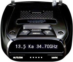 Uniden DFR7 Super Long Range Wide Band Laser/Radar Detector, Built-in GPS w/Mute