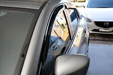 For MAZDA 6 ATENZA 2013-up window visor sun guard rain deflector vent shade