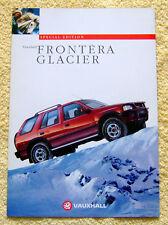 Vauxhall Frontera Glacier Estate Special Edition October 1994