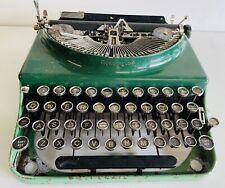Remington Remette Typewriter - Two tone green