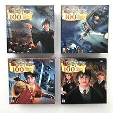 Harry Potter Lot 4 - 100 Piece  Puzzle Casse Tete Rompecabezas Queba Cabeca