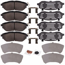 OEM 2015 Front Disc Brake Pad Set w/ Clips & Shims WRX Outback Legacy 26296VA000