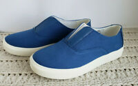 Women Canvas Slip-On Athletic Sneakers Shoes Maisy Comfortview Royal Size Choice
